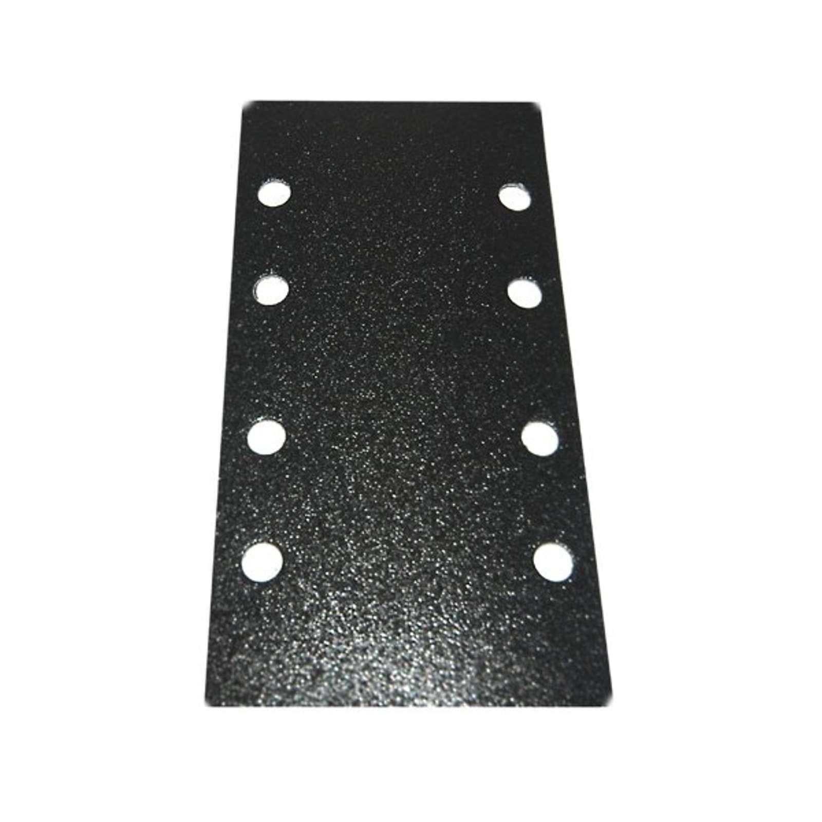 Набор листов шлифовальных для ПШМ Uragan P120, на липучке, 93×185 мм, 10 шт