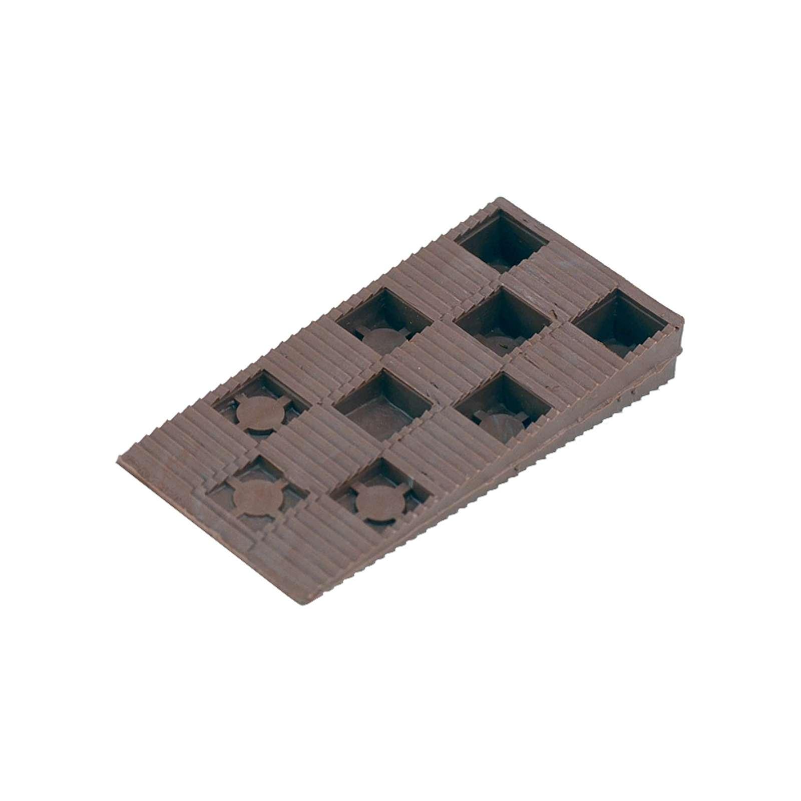Клин монтажный 15×90×45 коричневый (10 шт)