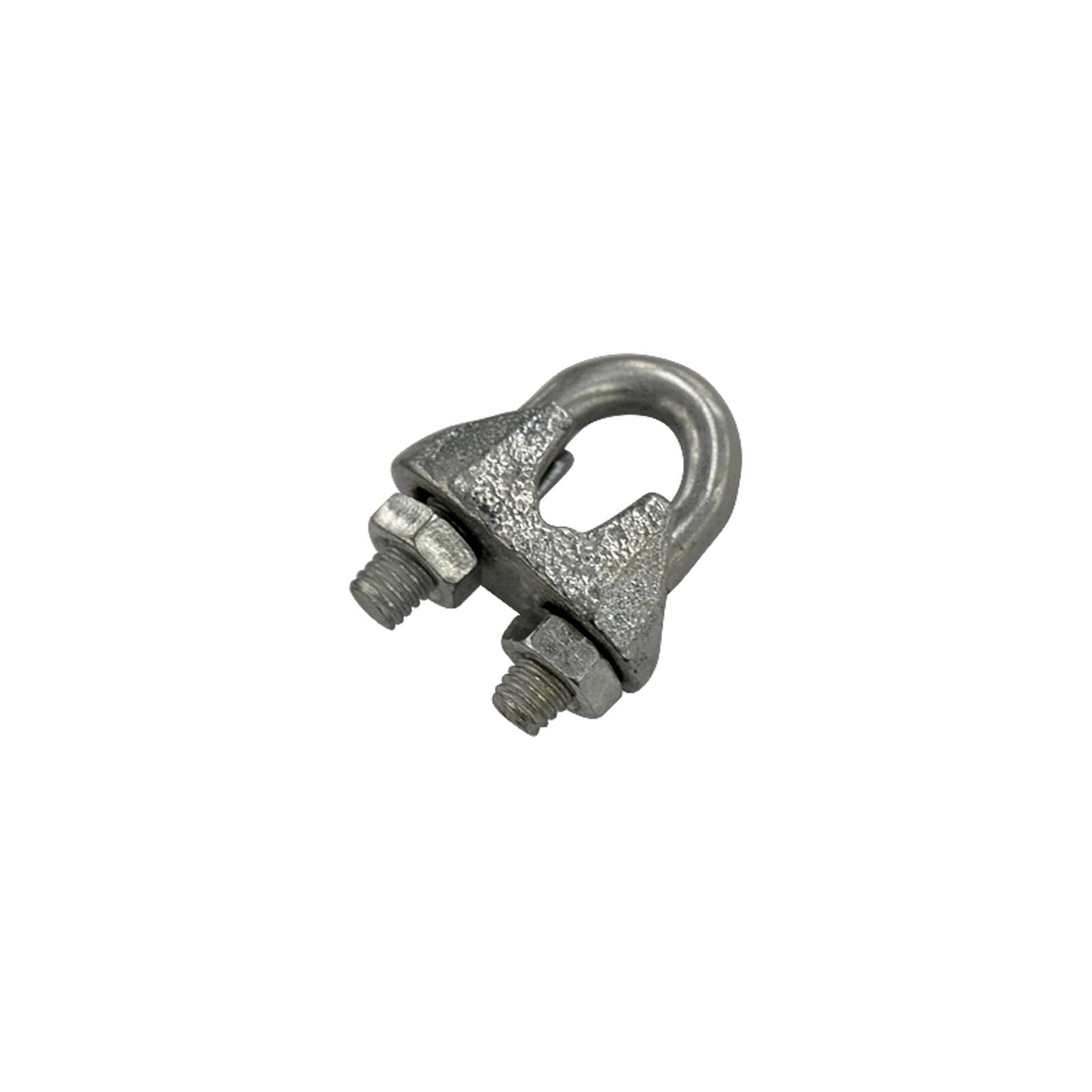 Зажим для каната DIN 741 6 мм 2 штука в упаковке Tech-Krep