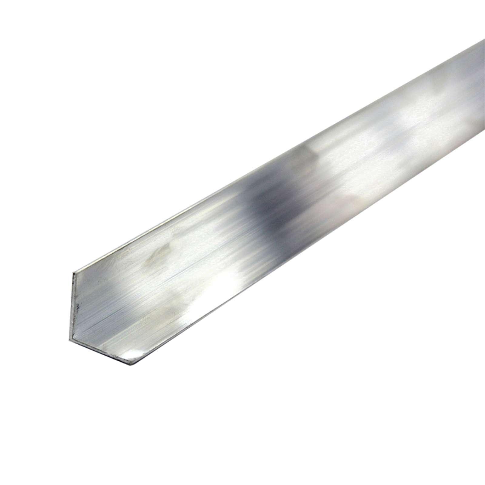 Уголок алюминиевый равнополочный 30х30х1,5 мм, 1 м
