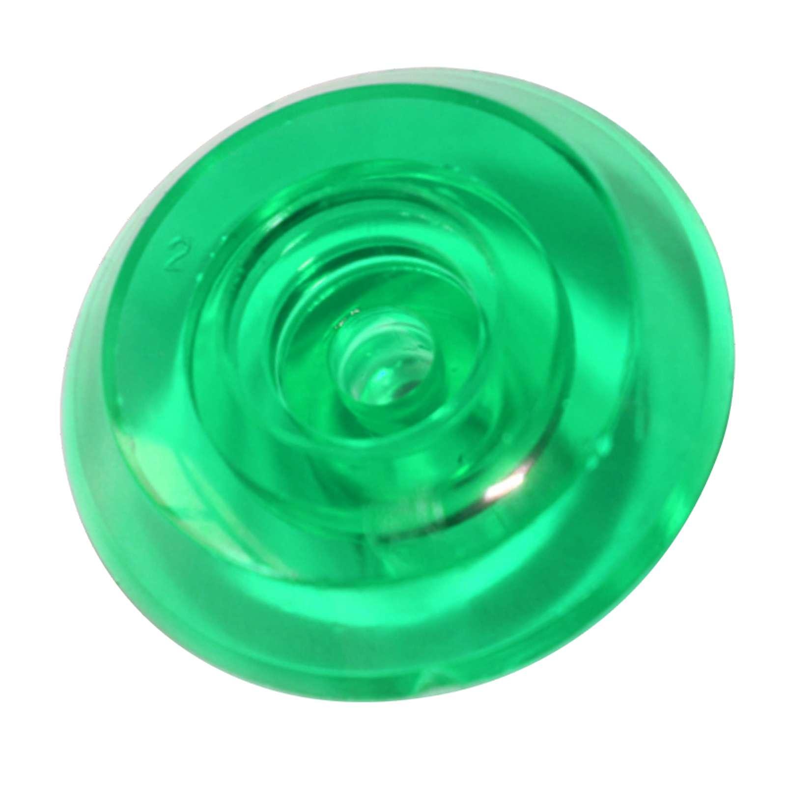 Термошайба монолит зеленая, 4мм