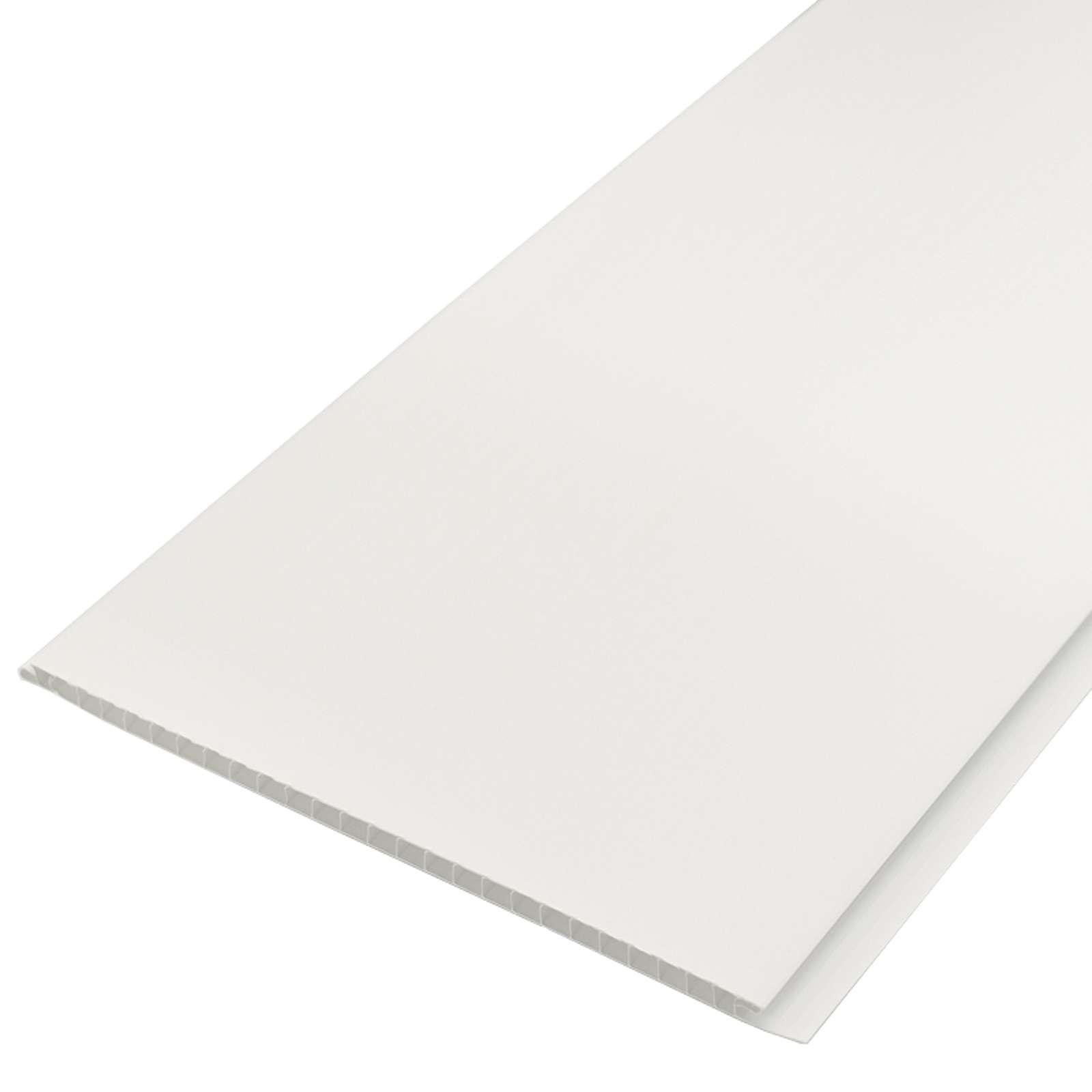 Панель П-25 белая матовая, 2,7м