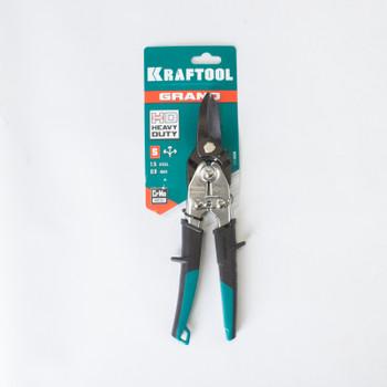 Ножницы по металлу KRAFTOOL Cr-V, прямой рез, 260мм