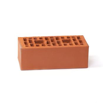 Кирпич облицовочный пустотелый полуторный М-100/150, шоколад, Копейск (352шт)