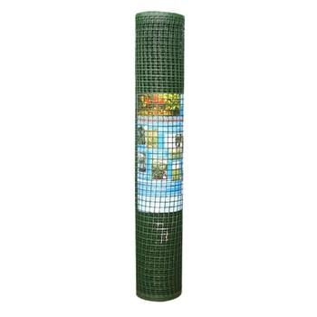 Садовая решетка ячея 15*15мм, рулон 1х10 м (хаки)