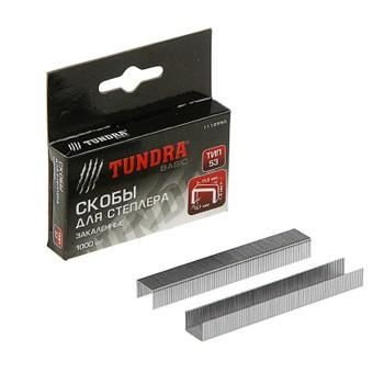 Набор скоб Tundra basic, тип 53, 8 мм, 1000 шт