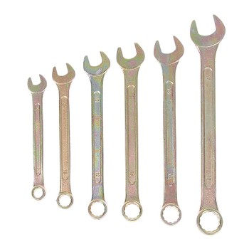 Набор ключей комбинированных Tundra basic, 8-17 мм, 6 шт