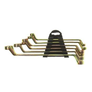 Набор ключей накидных Tundra basic, 8-19 мм, 6 шт