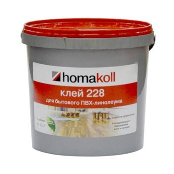 *удал*Клей (Хомакол 228, 4 кг, для бытового линолеума, морозостойкий)