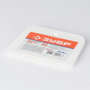 Шпатель резиновый белый, 100мм