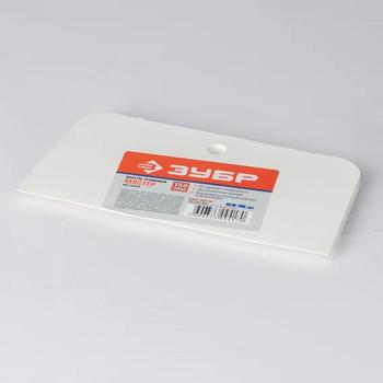 Шпатель резиновый белый, 150мм