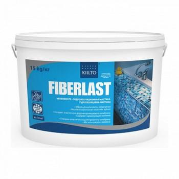 Мастика гидроизоляционная Kiilto Fiberlast, 15 кг