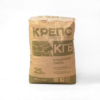 Кладочная смесь для ячеистых блоков Крепс КГБ, 25 кг
