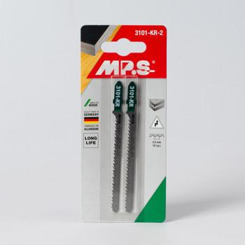Полотно д/электролобзика по дереву шаг 2,5мм, 75 мм, фигурная, 2шт MPS