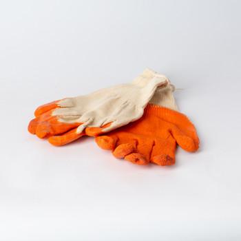 Перчатки трикотажные с тройным покрытием из латекса