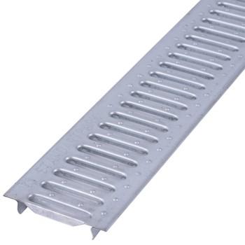 Решетка водоприемная Standartpark Basic РВ-10.14.100 штампованная стальная оцинкованная