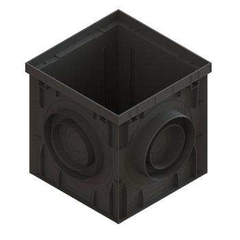 Дождеприемник PolyMax Basic ДП–30.30-ПП пластиковый черный