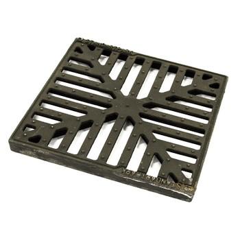 Решетка водоприемная чугунная, Basic 280x280x23 ммкл. С 3334