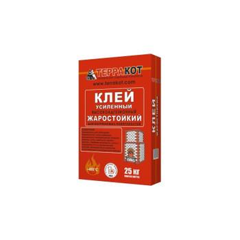 Клей усиленный жаростойкий Терракот, 25 кг