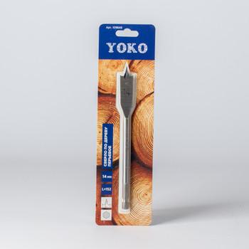 Сверло по дереву перьевое 14х152мм Yoko