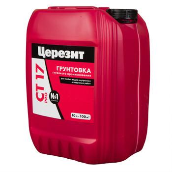 Грунтовка Ceresit CT17 PRO, 10л