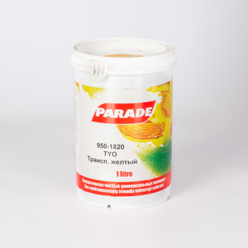 Колер 950-1820 TYO Транспарант.желт. 1л