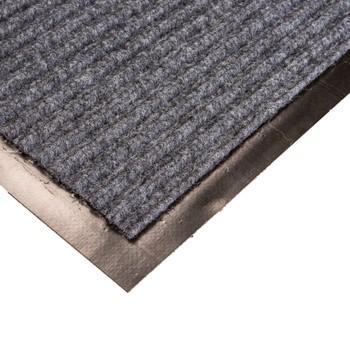Коврик грязезащитный Двухполосный, серый, 90х150 см.