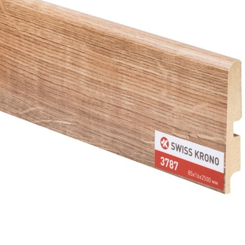 Плинтус Kronopol P85 3787 Baltic Oak 2500х85х16мм