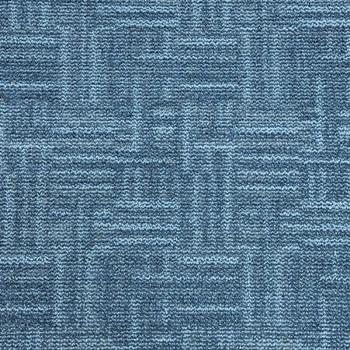 Ковровое покрытие Sintelon PANORAMA 43846 синий 3,5 м
