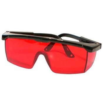 Очки защитные для работы с лазерными приборами красные