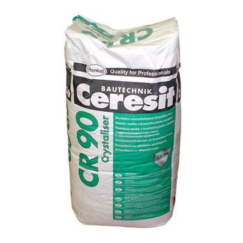 Гидроизоляция с проникающим эффектом Ceresit CR90 Crystaliser, 25кг