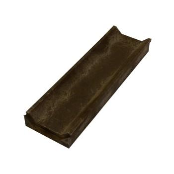 Слив тротуарный полимерпесчаный 500х150х50 мм, коричневый