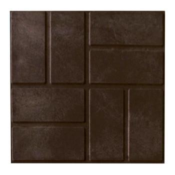 Плитка тротуарная ПП 250х250х20 мм, коричневая