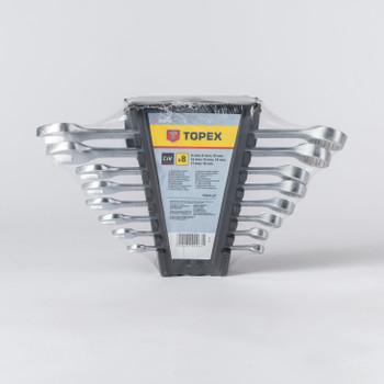 Набор ключей комбинированных, 6-19 мм, 8 шт
