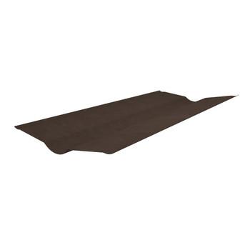 Ендова Onduline коричневая 1000 х 360 мм