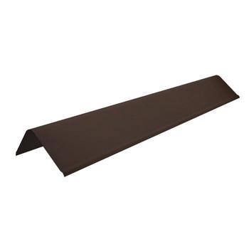 Щипцовый профиль Ondulline коричневый 1100мм