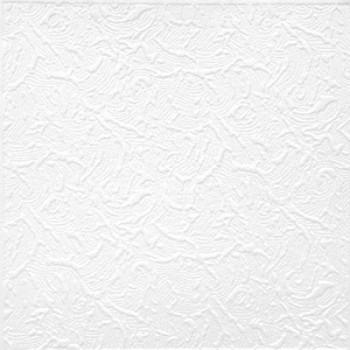 Потолок клеевой Солид Париж-2, 50х50, 2м2/8 шт упак, 54м2/216 шт коробка, белый