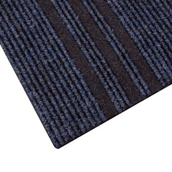 Дорожка грязезащитная Staze URB 713, синяя, 0,8 м.
