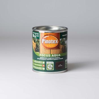 Декоративно-защитная пропитка д/пиленой древесины Pinotex Focus Орех, 0,75л