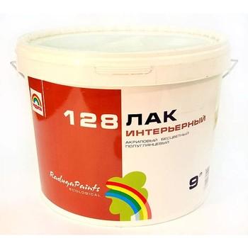 Лак акриловый ВДАК-128 п/гл., 9л (для внутр. работ)