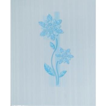 Декор 20x25 Глория голубой GL2B041