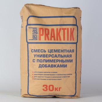 Кладочная смесь Praktik М100, 30 кг
