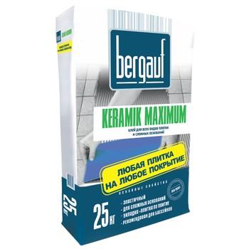 Клей для плитки Bergauf Keramik Maximum, 25 кг