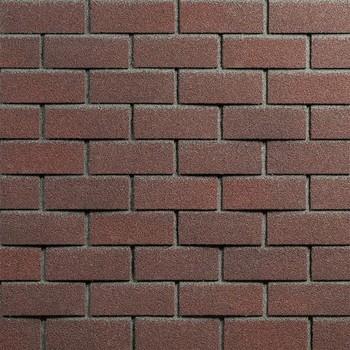 Фасадная плитка ТехноНИКОЛЬ Hauberk Обожжённый кирпич, 1000х250х3 мм