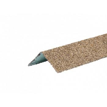 Угол металлический внешний HAUBERK(песчаный кирпич) 50х50х1250мм, ТЕХНОНИКОЛЬ