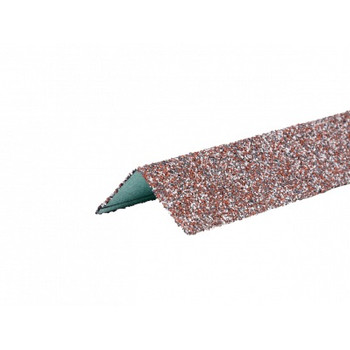 Угол металлический внешний HAUBERK(мраморный кирпич) 50х50х1250мм, ТЕХНОНИКОЛЬ