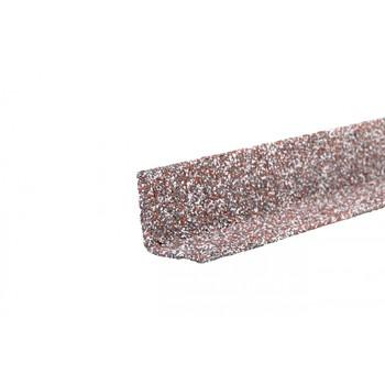 Угол металлический внутренний HAUBERK (мраморный кирпич) 50х50х1250мм, ТЕХНОНИКОЛЬ