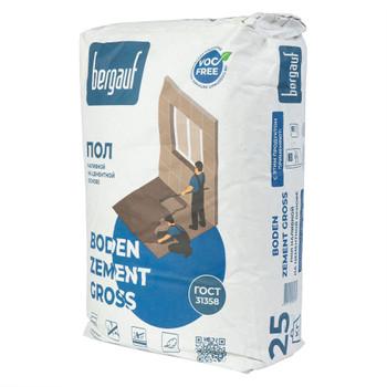 Ровнитель цементный Bergauf Boden zement gross, 25 кг