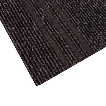 Дорожка грязезащитная Staze URB 766, черная, 1.0 м