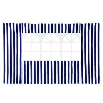 Стенка с окном для садового тента 4120 синяя GreenGlade